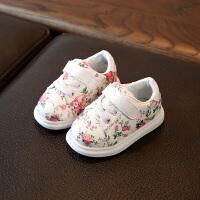0-1-3岁半女宝宝学步鞋软底单鞋女童皮鞋6-12个月春秋婴儿板鞋子2