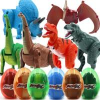 恐龙玩具模型翼龙变形恐龙蛋儿童奥特曼会动机器人仿真小霸王龙