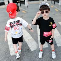 童装男童短袖套装夏装中小童儿童宝宝两件套