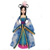 芭比娃娃的衣服古装宫廷套装古代贵妃古装服 单拍衣服(不含娃娃)