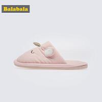 巴拉巴拉儿童拖鞋女2019新款春秋室内鞋子居家亲子鞋时尚防滑软底