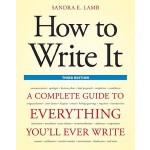【预订】How to Write It: A Complete Guide to Everything You'll