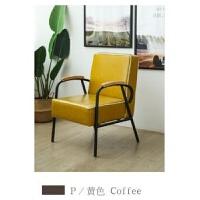 北欧现代简约沙发 铁艺咖啡厅奶茶西餐厅卡座单双凳扶手简约复古
