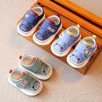 婴儿软底学步鞋男宝宝幼儿儿童小布鞋