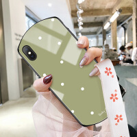 苹果x手机壳iphone11Promax女款XR玻璃iphonexsmax全包11 PRO防摔iphonex椭圆形in