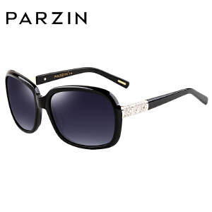 帕森时尚优雅水钻偏光太阳镜女士潮流时尚驾驶墨镜9606