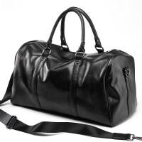 旅行包男手提包短途出差商务大容量单肩斜挎健身行李包 大