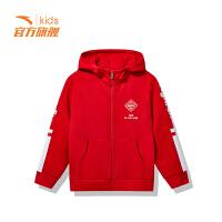 安踏(ANTA)童装男童针织外套儿童运动服外套35848703