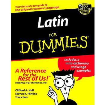 【预订】Latin For Dummies 预订商品,需要1-3个月发货,非质量问题不接受退换货。