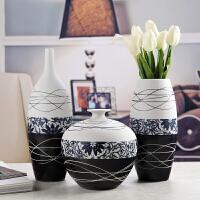 房软装饰品摆件家居客厅陶瓷花瓶花插电视柜酒柜摆设