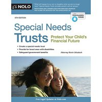 【预订】Special Needs Trusts: Protect Your Child's Financial Fu