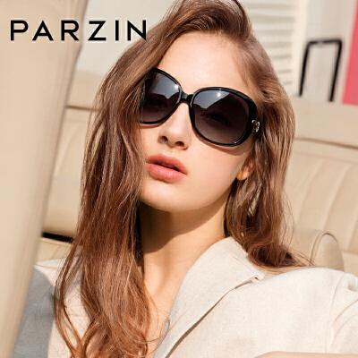 帕森潮流偏光太阳眼镜 女 时尚优雅水钻大框墨镜司机驾驶镜6214