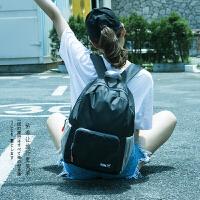 户外旅行皮肤包超轻可折叠登山包双肩背包女韩版校园学生百搭书包