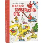 英文原版 Richard Scarry's Busy, Busy Construction Site 纸板书 斯凯瑞