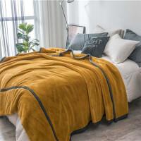 毛毯 加厚保暖双层法兰绒毯子双人毛毯冬季拉舍尔珊瑚绒毯床单毯卧室宿舍学生保暖毯午休盖毯