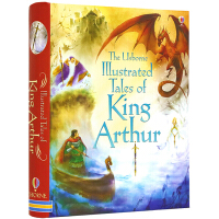 【全店满300减100】英文原版 The Usborne Illustrated Tales of King Arthu