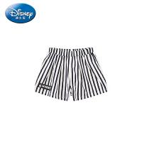 【99元3件】迪士尼女童针织时尚短裤条纹透气正品童装2020夏季新品