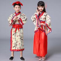 幼儿书童弟子规国学服表演服汉服礼服装儿童三字经演出服