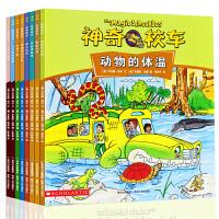 神奇校车 神奇的校车系列绘本全套8册 一年课外阅读书籍科普小学生二年级必读 动画人文图画书非注音版辑桥梁书