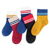 儿童袜子男童女童中筒袜薄款学生短袜童袜宝宝棉袜春秋夏款