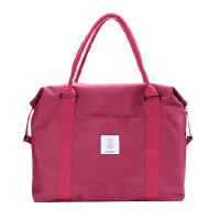 旅行手提包便携拉杆行李箱衣物收纳袋大容量短途单肩包收纳包旅游