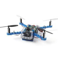 兼容乐高拼装四轴飞行器电动飞机迷你无人机男玩具遥控飞机直升机