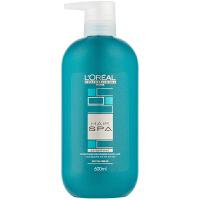 L'OREAL欧莱雅 丝泉密集滋养洗发水 护发素600ml 滋养修复去油去屑spa护理 专业洗护发滋润
