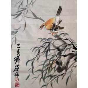 陈葆棣 当代著名画家 花鸟作品