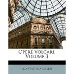 【预订】Opere Volgari, Volume 3