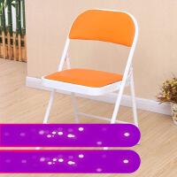 【支持礼品卡】折叠椅靠背座椅凳子电脑椅子办公家用简易麻将餐椅便携培训凳3pb