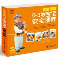 完美图解0~3岁宝宝安全喂养(全彩)(国内第1本细致到连换纸尿裤都一步一图(真人实拍)的育儿书。超值赠送宝宝安全提示挂