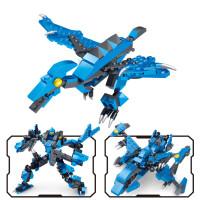 legao男孩子6拼装玩具恐龙机器人7力9岁10生日礼物8
