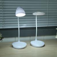 充电LED台灯触摸调光护眼小台灯学生学习宿舍书桌床头阅读灯