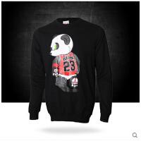可爱卡通运动休闲长袖T恤 新款 熊猫人篮球卫衣
