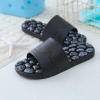 拖鞋穴位脚底鞋夏季男女家居凉拖鞋养生仿鹅卵石拖鞋