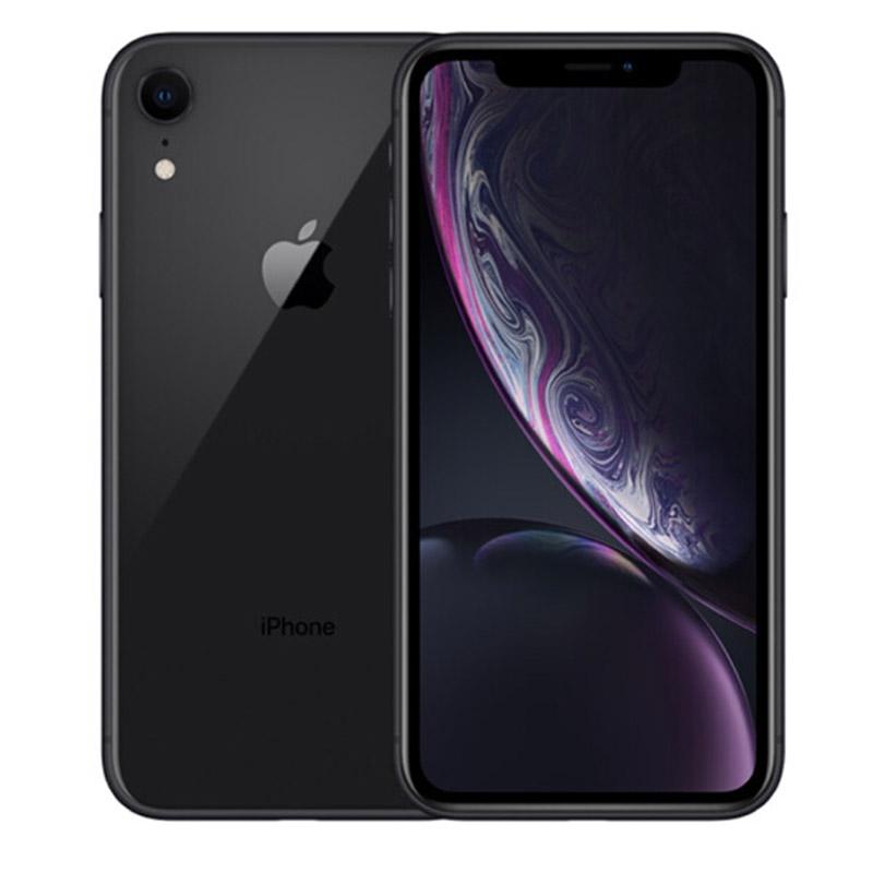 Apple iPhone XR 128G 黑色 支持移动联通电信4G手机国行正品,可使用礼品卡支付