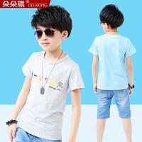 男童短袖t恤衫夏季 男孩儿童男大童体恤2019新款童装
