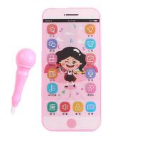 可充电触屏录音玩具手机男孩女孩可咬儿童宝宝带话筒智能电话c