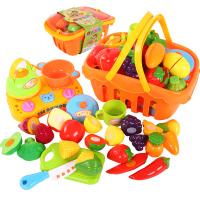 儿童过家家蔬菜切切看男女孩厨房玩具套装切水果玩具切切乐
