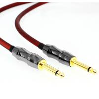 电吉他线连接线乐器贝司斯电子琴架子鼓降噪屏蔽发烧级