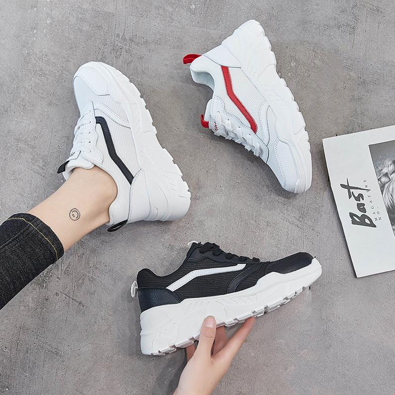 ZHR2019春季新款韩版小白鞋平底休闲鞋网红智熏鞋超火百搭女鞋子