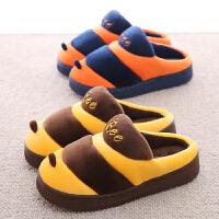 卡通儿童棉拖鞋冬季全包跟男女童小孩宝宝可爱防滑1-3岁居家棉鞋