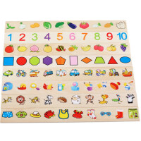巧之木学习知识分类盒形状配对儿童早教益智宝宝玩具1-3-6岁以上
