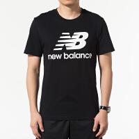 New Balance/NB 男装 运动休闲透气圆领短袖T恤 AMT91546BK