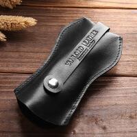 男士钥匙包小锁匙包头层牛皮腰挂时尚抽拉原创复古汽车钥匙包