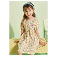 【抢购价:61元】巴布豆年新款儿童裙子可爱舒适淑女裙女童连衣裙