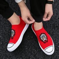 一脚蹬网红社会青年学生透气潮人鞋夏季新款网眼透气网