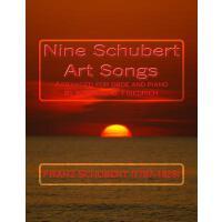 【预订】Nine Schubert Art Songs: Arranged for Oboe and Piano by