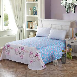 纯棉斜纹床上用品 床单250*230cm 纯情时代