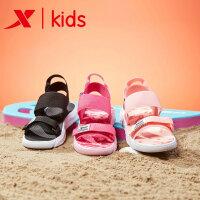 【特步限时直降】特步童鞋女童凉鞋新品韩版夏季中大童儿童软底防滑沙滩鞋童鞋681214509251